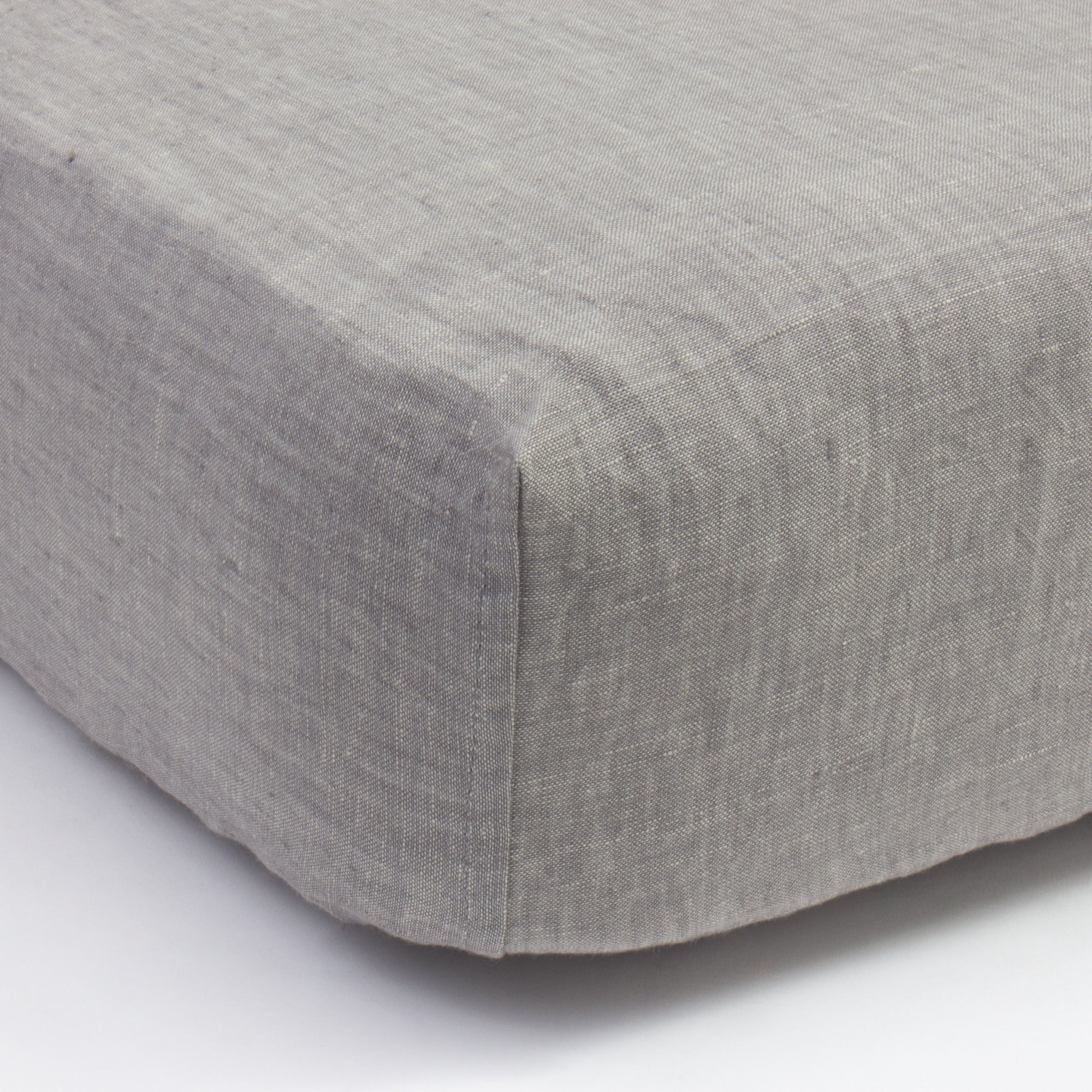 box spring cover ivory